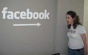 It's like I knew that one day I'd be angry at Facebook! Circa 2006