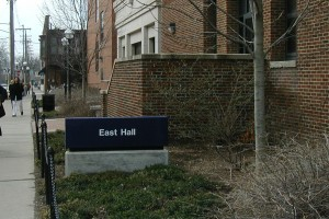 East Hall in Ann Arbor, MI, the site of many hours of graduate school angst.